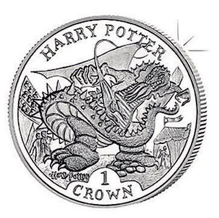 Монета с Гарри Поттером