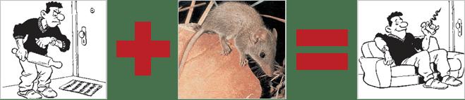 Сумчатая мышь запечатывает половые органы партнерши