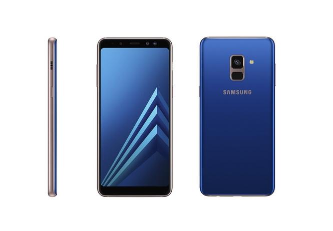 Новые Samsung Galaxy A8 и A8+: двойной фронтальная камера и безграничный экран