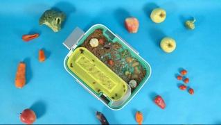 Кухонный гаджет, превращающий объедки в съедобный протеин