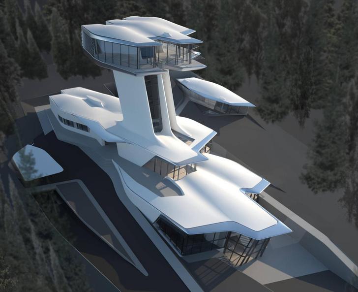 Фото №11 - Самые крутые здания женщины-архитектора Захи Хадид (плюс российские проекты и туфли)