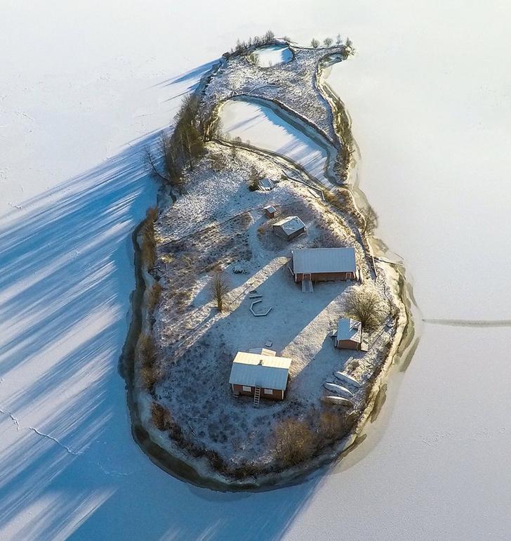 Фото №1 - Как выглядит остров Котисаари во все времена года