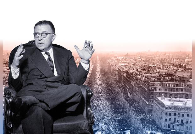 Фото №1 - Экзистенция замечательных людей: Жан-Поль Сартр