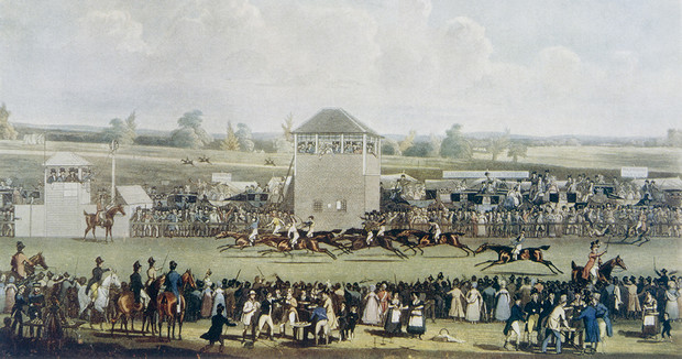 Скачки в Аскоте. 1820 год