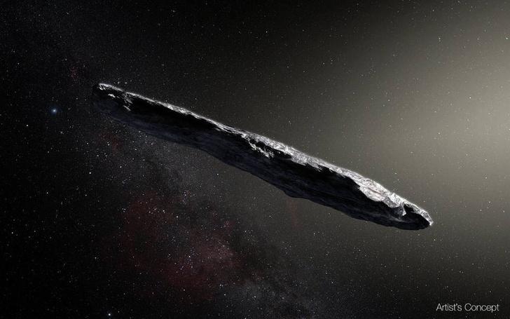 Фото №1 - В нашу солнечную систему прилетел астероид из другой солнечной системы