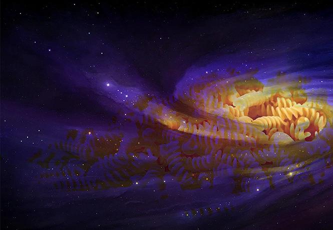 Фото №1 - Ученые открыли самый прочный материал во Вселенной, и это «ядерные макароны»