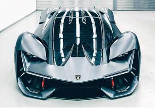 Самый агрессивный концепт-кар от Lamborghini