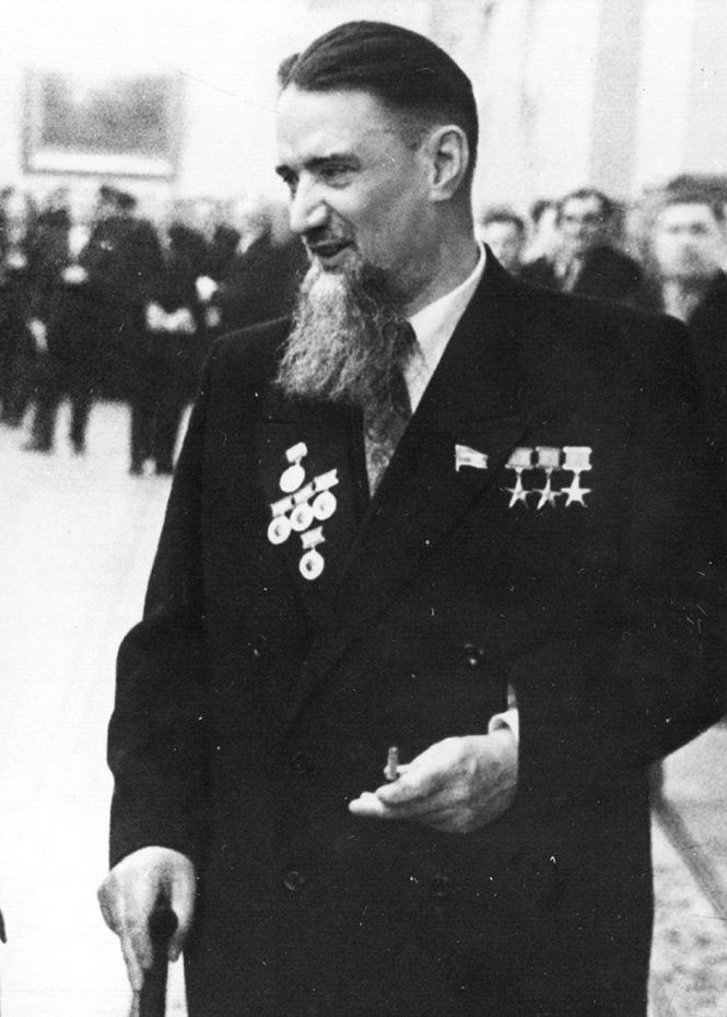 Академик И.В. Курчатов