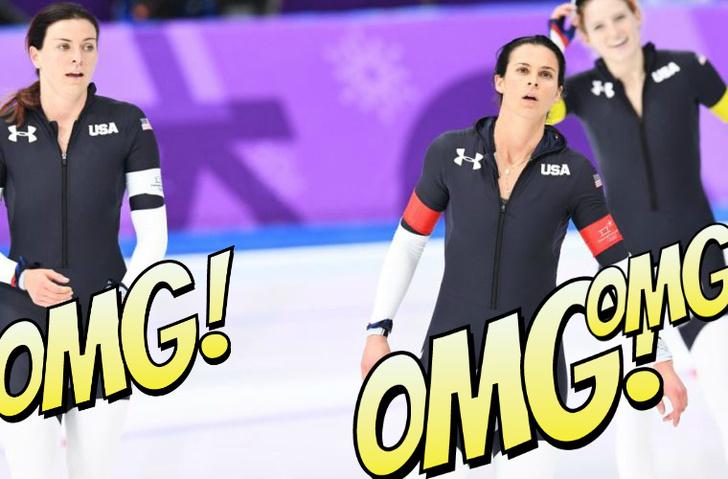 Фото №1 - Тайна неприличной формы американских конькобежек раскрыта!